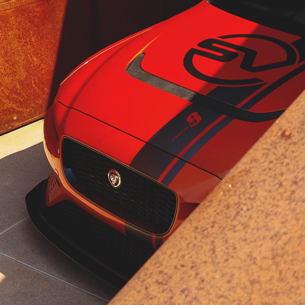 jaguar xe sv p8