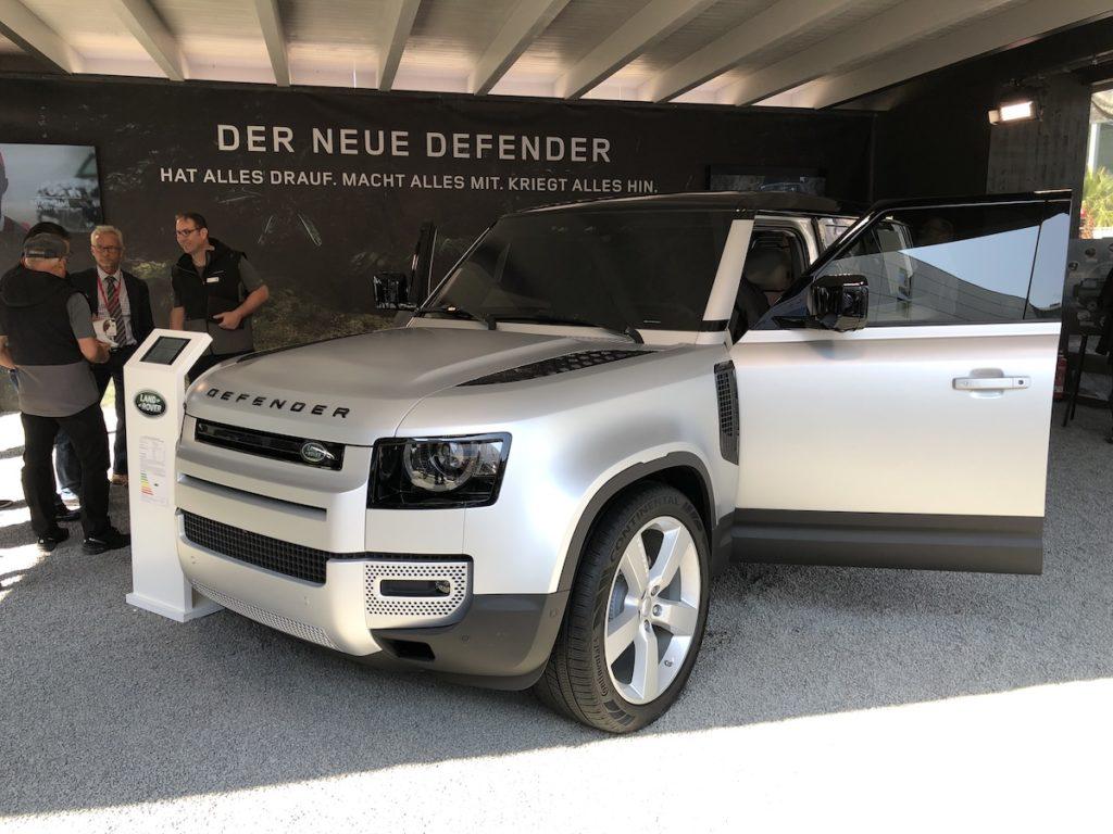 defender targi motoryzacyjne frankfurt 2019