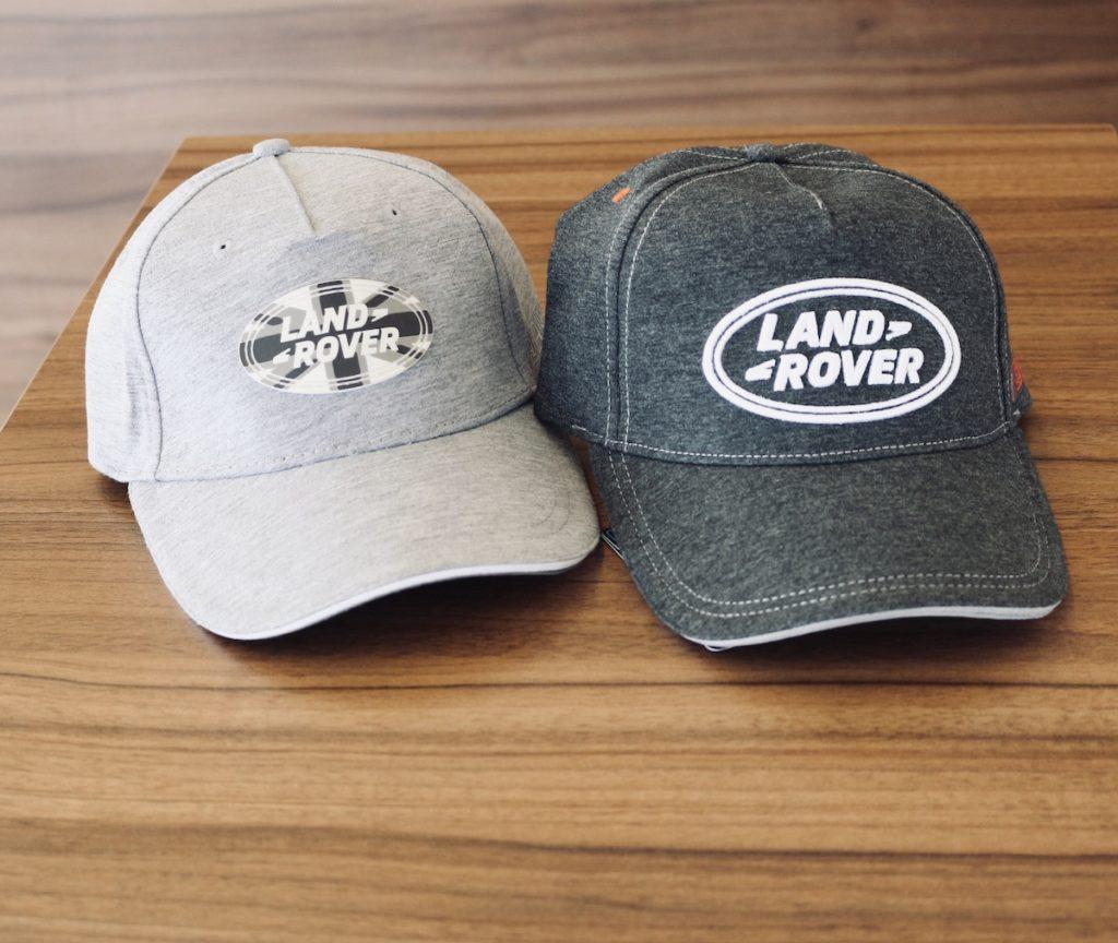 czapeczki z logo Land Rover