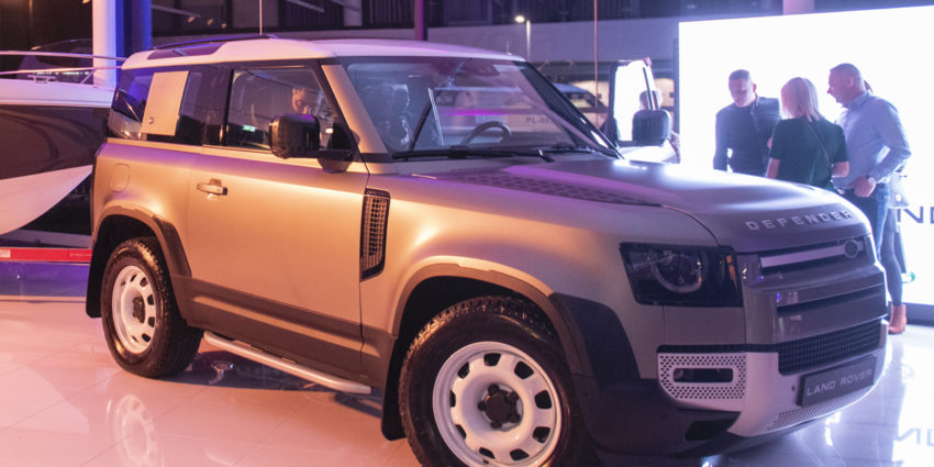 Przedpremierowy pokaz nowego modelu Land Rover Defender w Car-Master